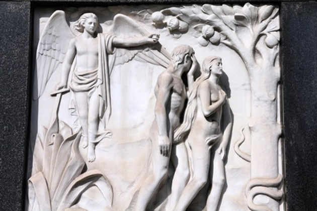 Biblical Scene Sculpture
