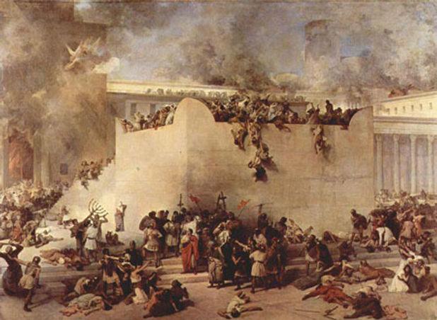 Temple Destruction