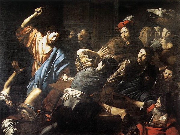 Christ Driving the Money Changers from the Temple, Boulogne