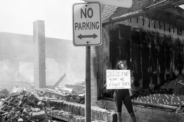 2020 The Year We Fight Back (Lake Street, Minneapolis)