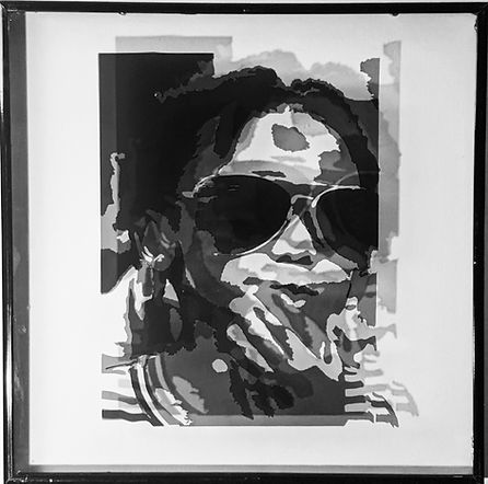Window Tint Portrait by Greg Brown Jr