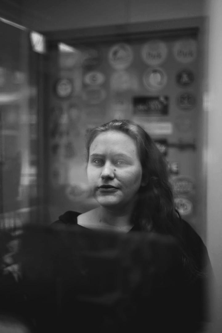 Portrait, Gas Station Cashier