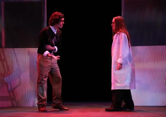 The actors of Frankenstein