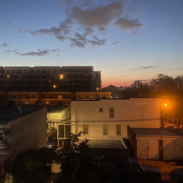 Sunrise Over the Rotunda