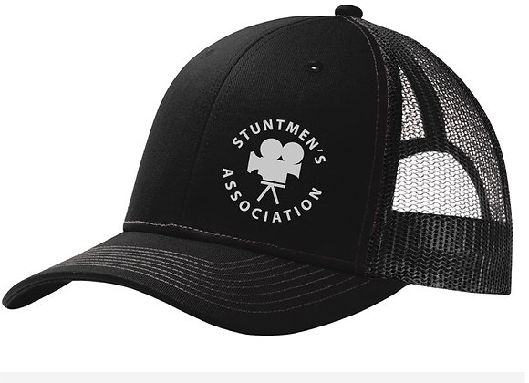 Stuntmen's Association Black Hat - Original Logo