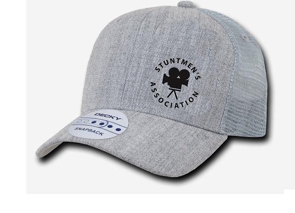 Stuntmen's Association Gray Hat - Original Logo