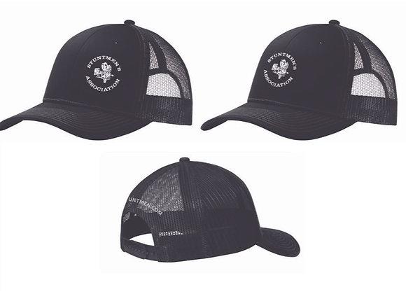Stuntmen's Association Black Trucker Cap