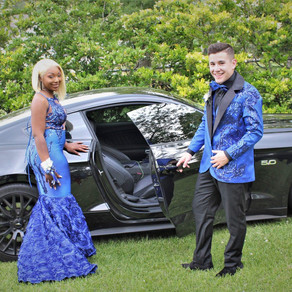 Prom 2018 Dress Jacket/Vest/Bow Tie Combo #5 (Royal Blue)