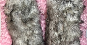 Faux Furry Leg Warmers