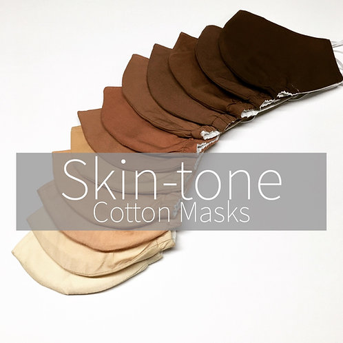 Skin-Tone MASKS (Cotton)