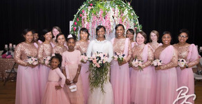 A Rose Gold Wedding