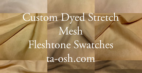 Perfect Skin-tone Matching Fabric for EVERYONE!!!