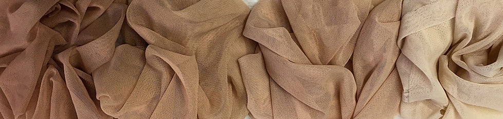 Custom dyed stretch mesh