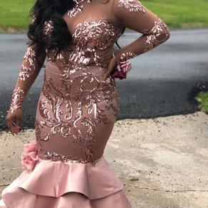 Prom 2018 Dress #3 (Blush)