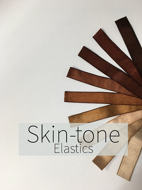 "Nude ""Skin-tone"" Elastic"