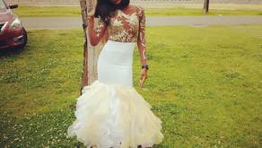 Prom 2018 Dress #1 (Golden Egg Nog)