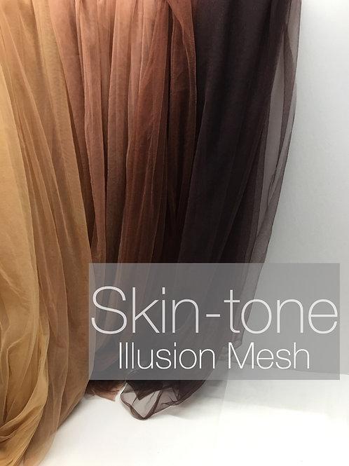 Skin-tone Illusion Mesh