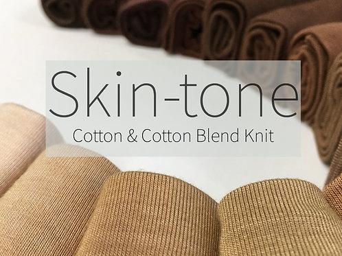 Skin-tone KNIT Fabric
