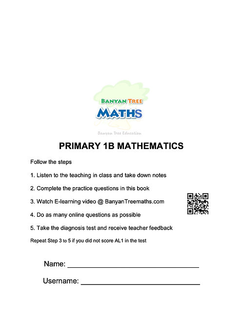 PRIMARY 1B MATH