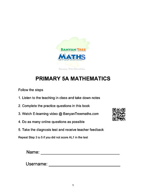 PRIMARY 5A MATH