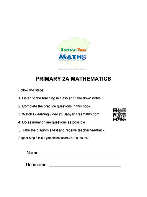 PRIMARY 2A MATH