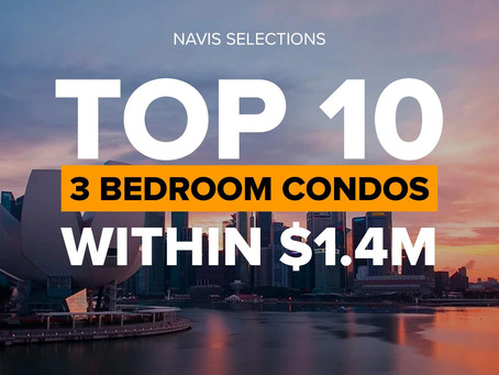 TOP 10 3 Bedroom Condos Within $1.4M