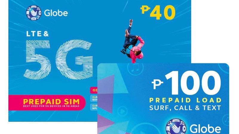 Globe Sim+100pesos load