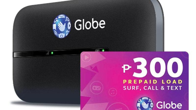 Globe LTE Mobile WiFi with P300 Prepaid Load