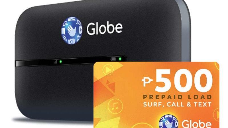 Globe LTE Mobile WiFi with P500 Prepaid Load