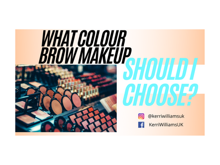 How to pick your brow makeup shade 😍
