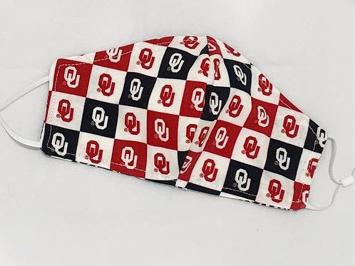 Collegiate Masks - Oklahoma University