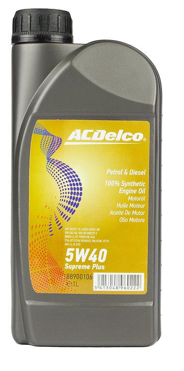 ACDelco 5W40 Supreme Plus X1L