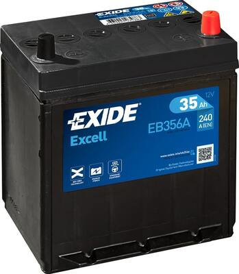 Акумулатор EXIDE Excell ** EB356A