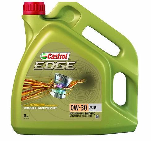 CASTROL EDGE 0W30 A5/B5 x4L