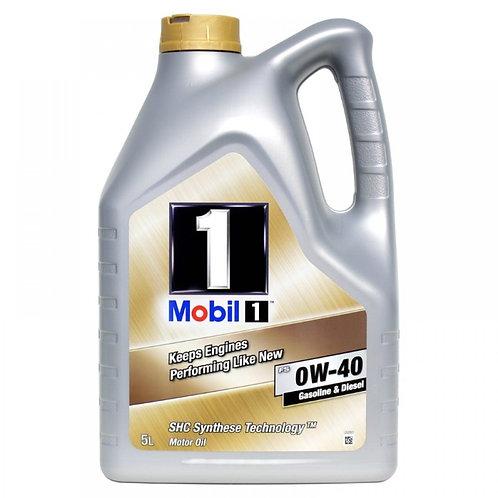 MOBIL 1 FS 0W40 x5L