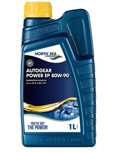 NORTH SEA AUTOGEAR POWER EP 80W90 x1L
