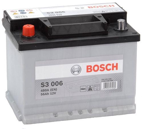 Акумулатор BOSCH S3 006