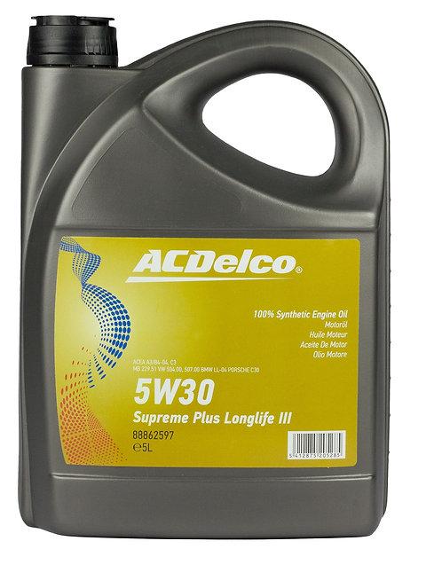 ACDelco 5W30 Supreme Plus Longlife III x5L