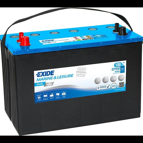 Акумулатор EXIDE Dual AGM EP900
