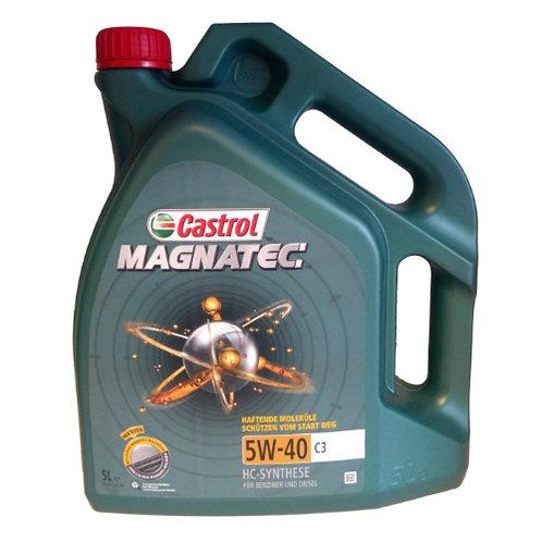 CASTROL MAGNATEC 5W40 C3 x5L