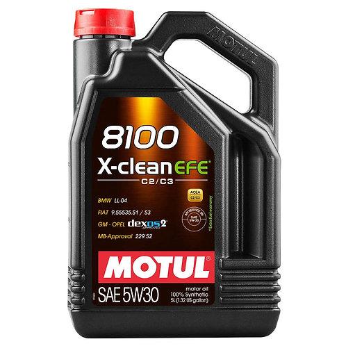 MOTUL 8100 X-CLEAN EFE 5W30 x5L