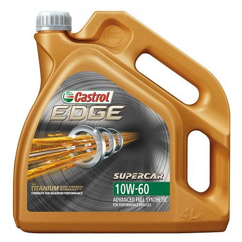CASTROL EDGE SUPERCAR 10W60 x4L
