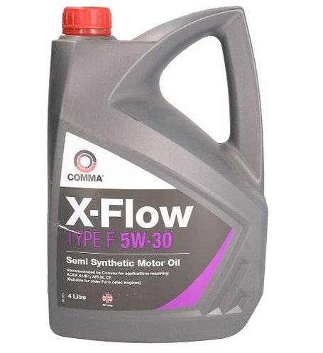 COMMA X-FLOW TYPE F 5W30 x4L