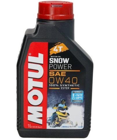 MOTUL SNOWPOWER 4T 0W40 x1L