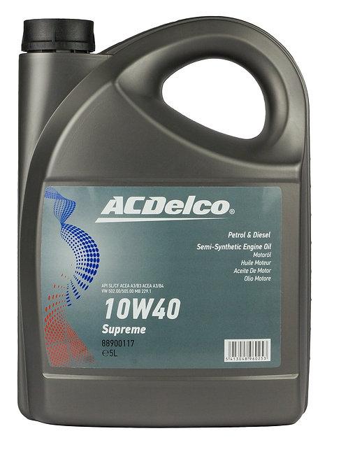 ACDelco 10W40 Supreme X5L
