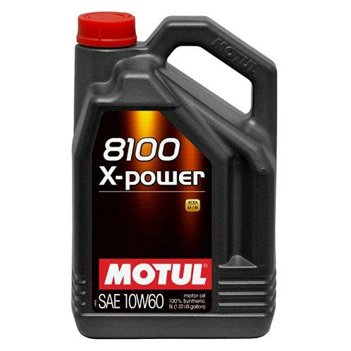 MOTUL 8100 X-POWER 10W60 x5L