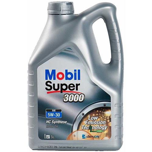 MOBIL SUPER 3000 XE 5W30 x5L
