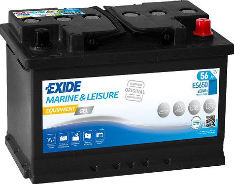 Акумулатор EXIDE Equipment GEL ES650