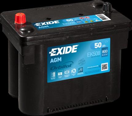 Акумулатор EXIDE Start-Stop AGM EK508