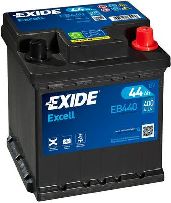 Акумулатор EXIDE Excell ** EB440